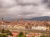 Изглед от площад Микеланджело