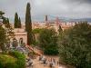 Изглед от Градините Бардини