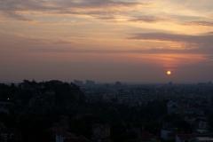 Изгрев над Стария град